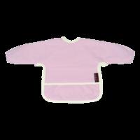 Bryndáček froté s rukávem růžový