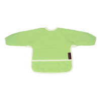 Bryndáček froté s rukávem zelený