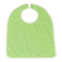 Chránič oděvu froté zelený velký 55x43