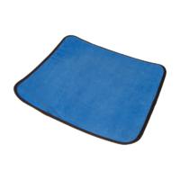Sedák hygienický 40x45 SAMET modrý