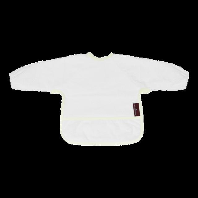 Bryndáček froté s rukávem bílý
