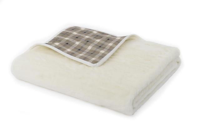 Wolldecke Kaschmir-Muster leichte - 1