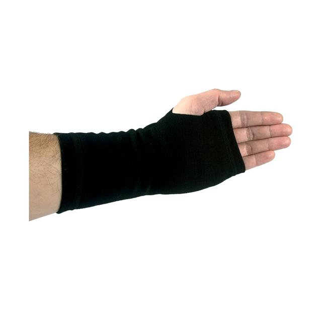Handshuhe-Pulswärmer funktionelle wolle Woolife Merino schwarz - 1