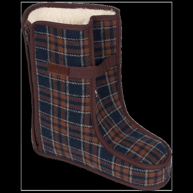 Spezialschuhe Wolle TEX Braun Größe 17-18, 18 - 1