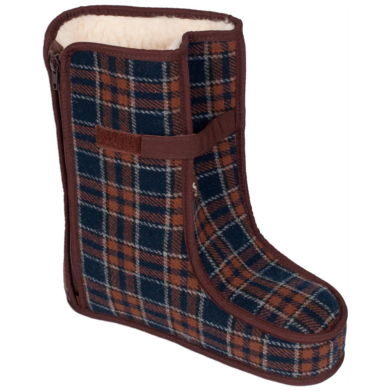 Spezialschuhe Wolle TEX Braun Größe 27-28, 28 - 1