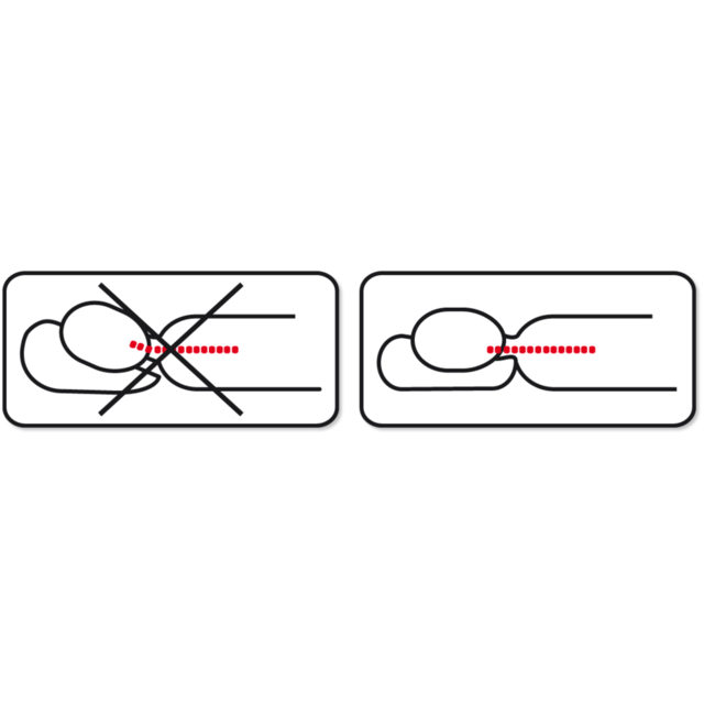 Anatomický polštář Vitapur Klasik - 2