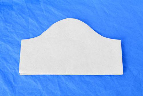 Ochranná rouška maska pánská modrá+5ks filtr - 2