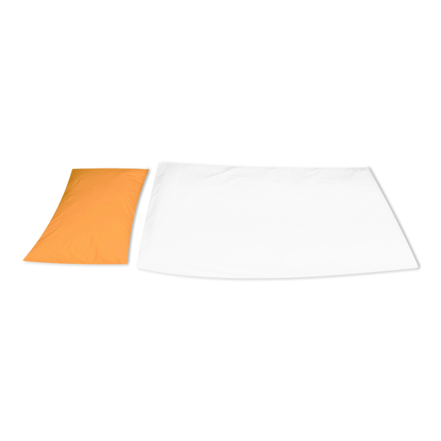 Leinen Jersey PREMIUM TENCEL Apricot - Kissen - 2
