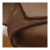 Merino Wolldecke Camel doppelseitig - 2/4