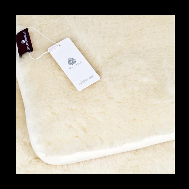 Wolldecke doppelseitig Kaschmir - 2