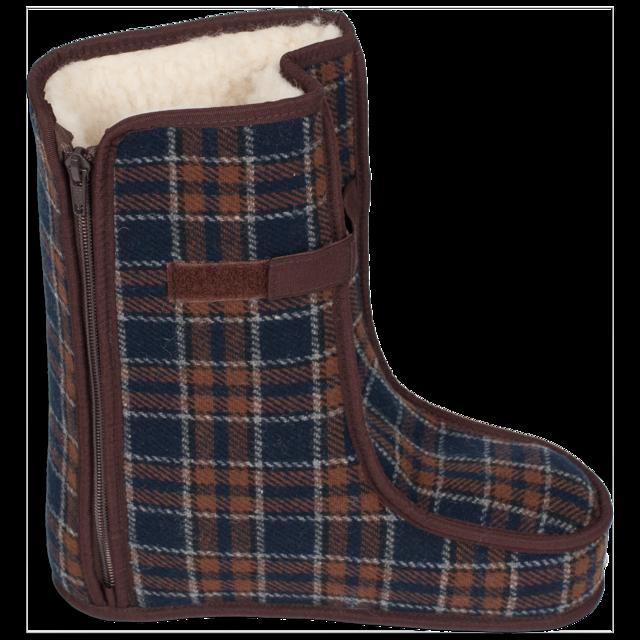 Spezialschuhe Wolle TEX Braun Größe 17-18, 18 - 2
