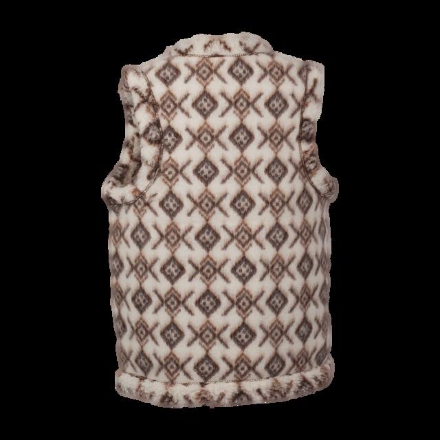 Wollweste mit Muster - 2