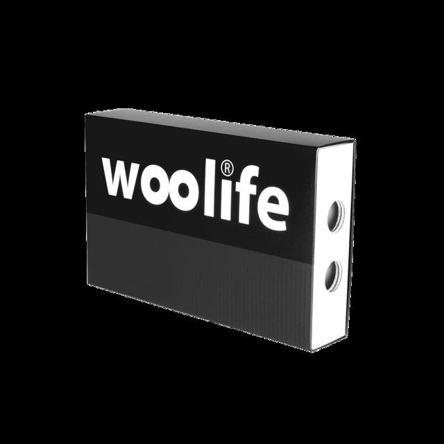 Handshuhe-Pulswärmer funktionelle wolle Woolife Merino schwarz - 2