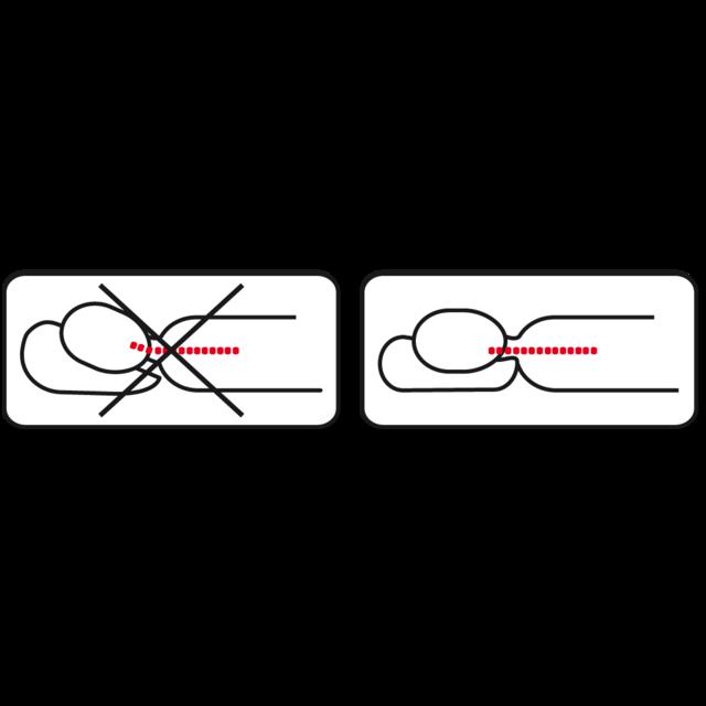 Anatomický polštář Vitapur Delfín - 3