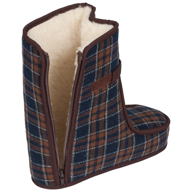 Spezialschuhe Wolle TEX Braun Größe 17-18, 18 - 3