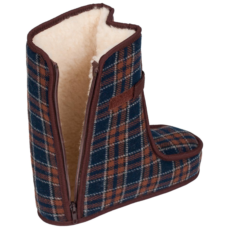 Spezialschuhe Wolle TEX Braun Größe 27-28, 28 - 3