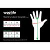 Handshuhe-Pulswärmer funktionelle wolle Woolife Merino Natural - 3/4
