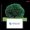 Leinen Jersey PREMIUM TENCEL Grün - Kissen - 3/3