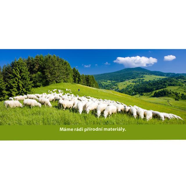 Wolldecke Kaschmir-Muster doppelseitig - 4
